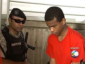 Jhodnes Nascimento Lopes confessou o crime  (Foto: Reprodução/TV Integração)