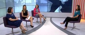 Debate trata da relação adolescentes x álcool (Reprodução/TV Globo)