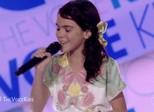 Menina de Iconha celebra aprovação no The Voice Kids: 'Muito feliz'