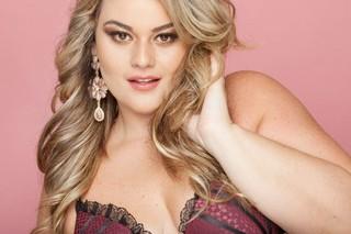 Aline Zattar, Miss Brasil Plus Size 2013 (Foto: Arquivo Pessoal)
