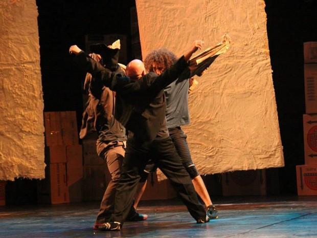 Espetáculo de dança em Uberlândia (Foto: Grupo Strondum/Divulgação)