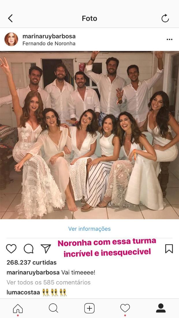 Retrospectiva Marina Ruy Barbosa  (Foto: Reprodução/Instagram)