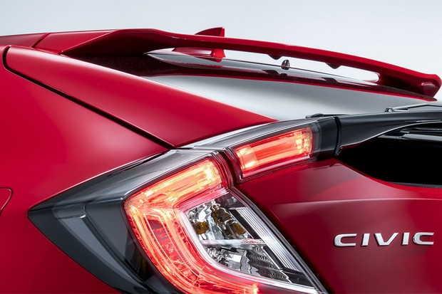 Teaser do novo Honda Civic hatch europeu (Foto: Honda)