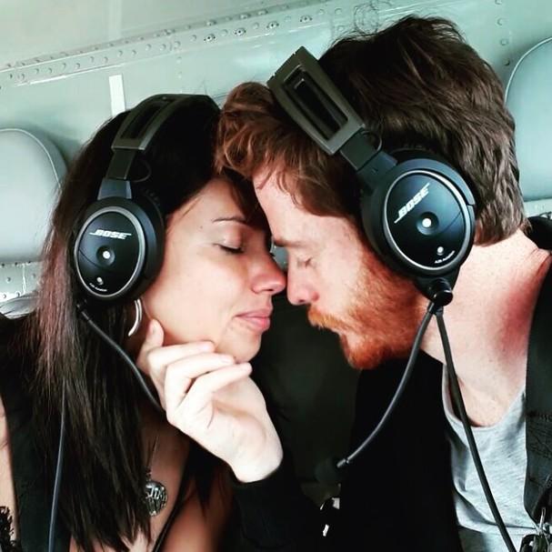 Adriana Lima e o novo namorado, Metin Hara (Foto: Instagram/Reprodução)