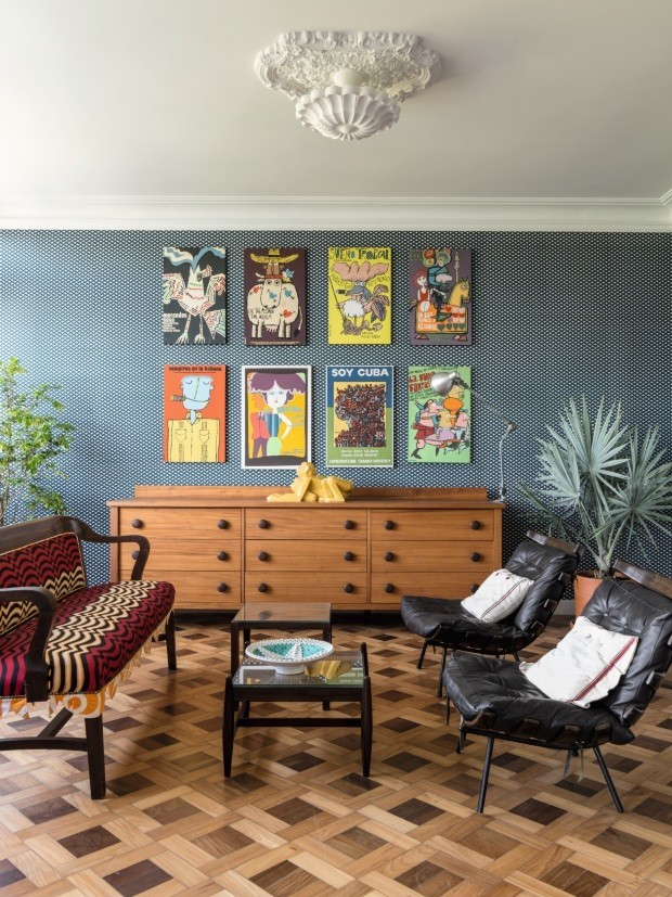 Casa Vogue Ama: gallery wall (Foto: Fran Parente)