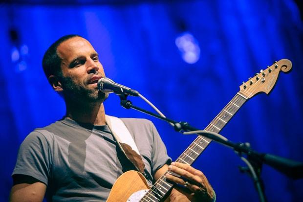 Jack Johnson durante o show de São Paulo  (Foto: (Foto: Stephan Solon / Move Concerts Brasil))