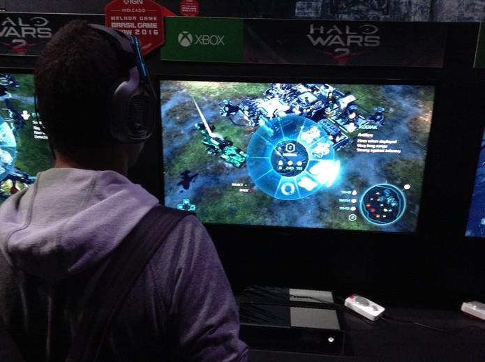Halo Wars 2 finalmente expande o universo de estratégia da série (Foto: Reprodução/Felipe Vinha)