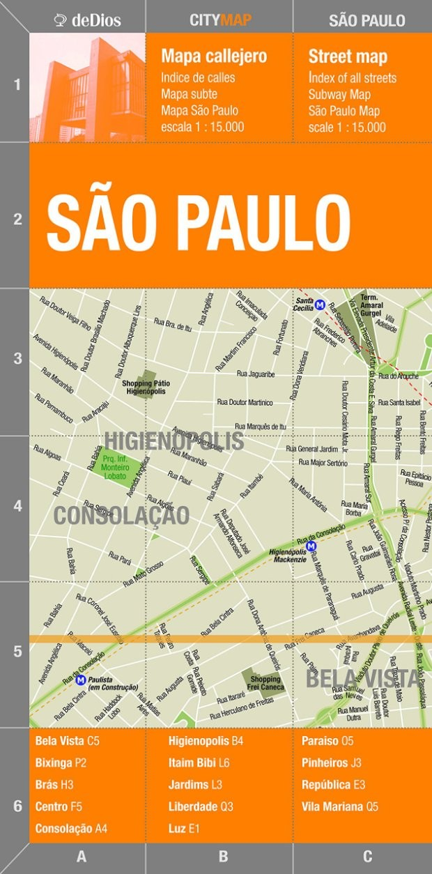 Mapa de São Paulo (Foto: Reprodução/Amazon)
