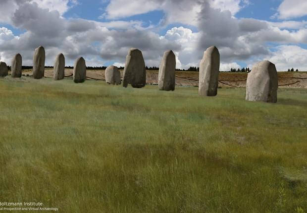 Arqueólogos descobrem monumento cinco vezes maior que Stonehenge
