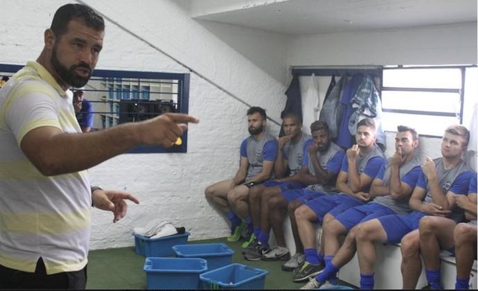 China Balbino técnico São José-RS Gauchão (Foto: Daniel Boucinha / São José-RS)