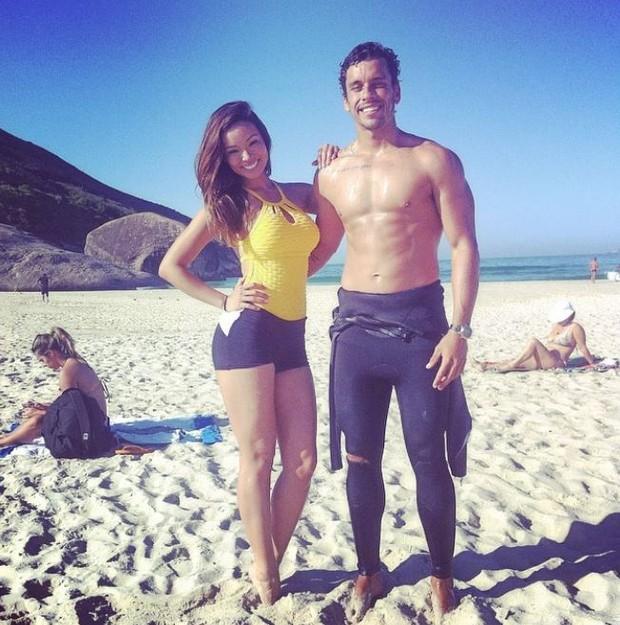 Carol Nakamura e Pedro Pires (Foto: Reprodução/ Instagram)