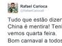 Rafael Carioca posta mensagem e nega que possa sair do Atlético-MG