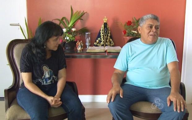 Casal fala sobre a quaresma (Foto: Roraima TV)
