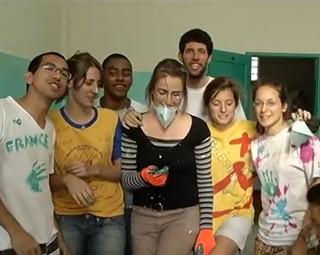 JMJ Voluntários  (Foto: Reprodução)