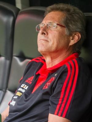 Oswaldo de Oliveira - Flamengo x Goiás (Foto: IDE GOMES - Agência Estado)