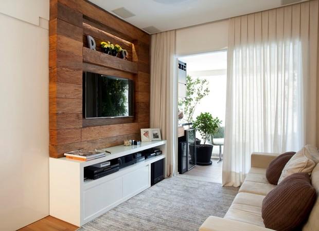 Decora o de apartamento pequeno como reformar e for Como organizar un apartamento muy pequeno