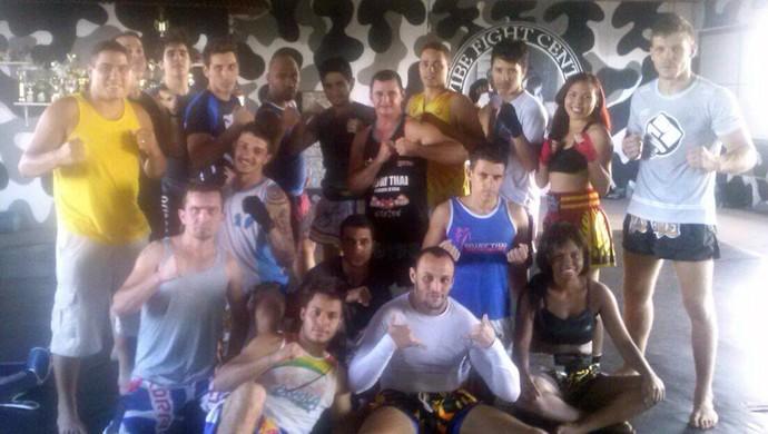 kickboxing uberaba ilton team campeonato mineiro 2015 (Foto: Ilton Donizete/ Arquivo Pessoal)