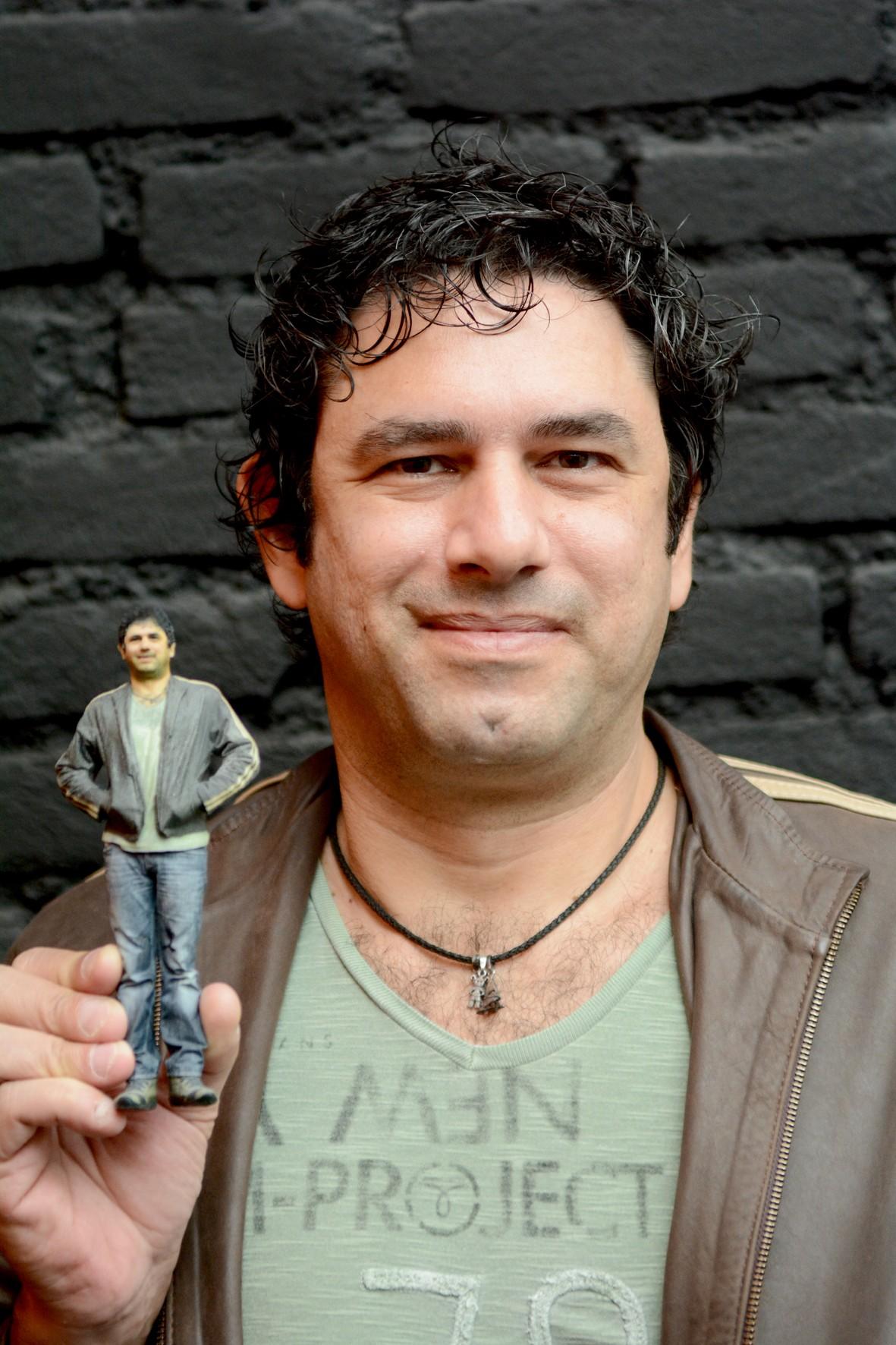 Bonecos tem cor original da imagem captada (Foto: Divulgação)
