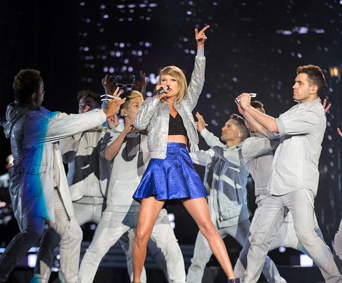 Taylor Swift colocou todo mundo para dançar no Rock in Rio Las Vegas (Foto: Divulgação)