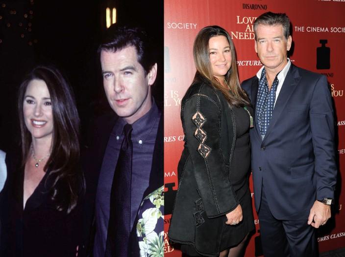 Apresentadora de televisão e jornalista, Keely Shaye Smith é casada e tem dois filhos com o ex-James Bond Pierce Brosnan. Ela mudou bastante desde o início de seu relacionamento com o ator. (Foto: Getty Images)