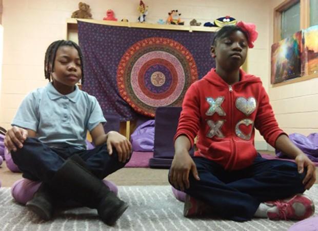 Sala foi equipada para uma melhor experiência de meditação (Foto: Reprodução)