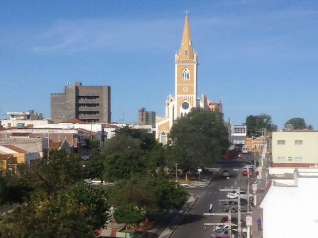 Serra Talhada, no Sertão de Pernambuco (Foto: Caren Diniz/TV Asa Branca)