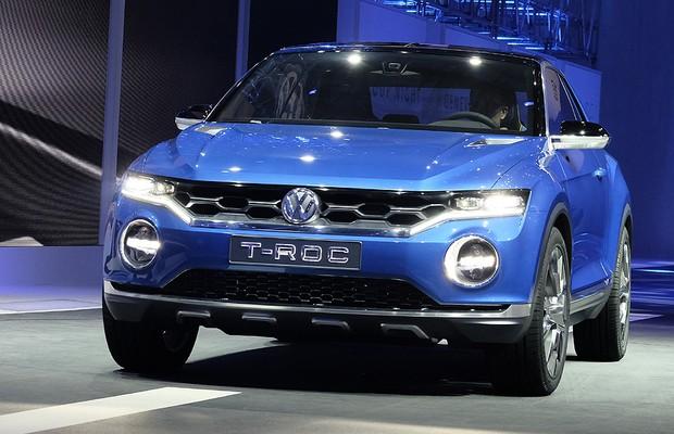 Volkswagen T-ROC no Salão de Genebra (Foto: Volkswagen)