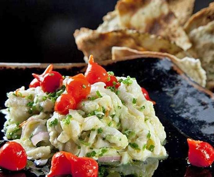Ceviche de Peixe Branco com Pimenta de Ludmilla Soeiro (Foto: Mais Você/ Gshow)