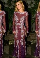 Estilista defende vestido de Carolina Dieckmann: 'Não tinha transparência'