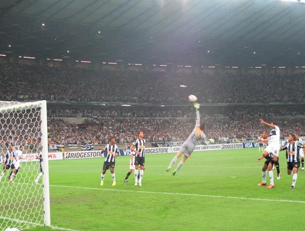 Atlético-MG x Olimpia final Libertadores (Foto: Alexandre Alliatti)