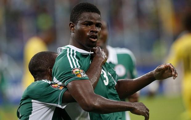 Elderson Echiejile nigéria gol mali copa africana de nações (Foto: Agência Reuters)
