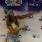 Nicole Bahls rouba a cena no Sambão (Julia Grillo/ G1)