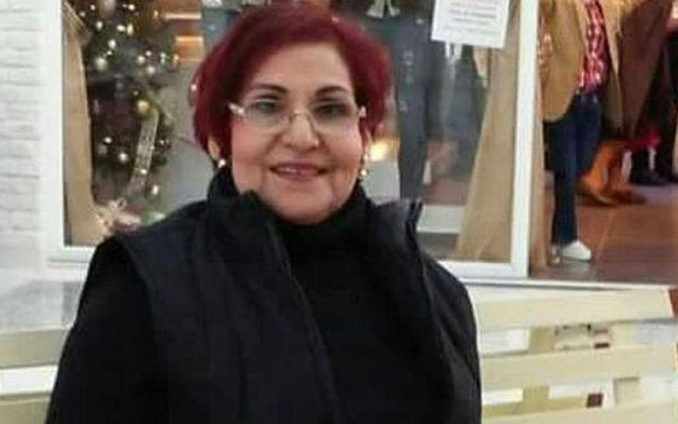 Em 2014, Miriam Rodríguez encontrou o corpo da filha desaparecida em uma vala comum (Foto: Colectivos de familiares de desaparecidos)