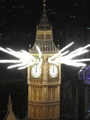 Mundo comemora chegada do Ano Novo; veja galeria de fotos ( Finbarr O'Reilly/Reuters)