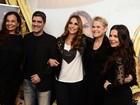 Famosos curtem show de Ivete Sangalo em festa no Rio