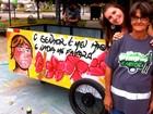 Catadora tem carroça 'turbinada' por voluntários em Piracicaba: 'ficou linda'
