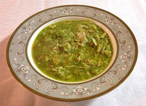 Sopa de aspargos (Foto: Arquivo Pessoal)