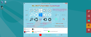 My WCP CharmBar Customizer