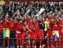 Colombiano brilha, Sevilla bate o Dnipro e leva o tetra na Liga Europa