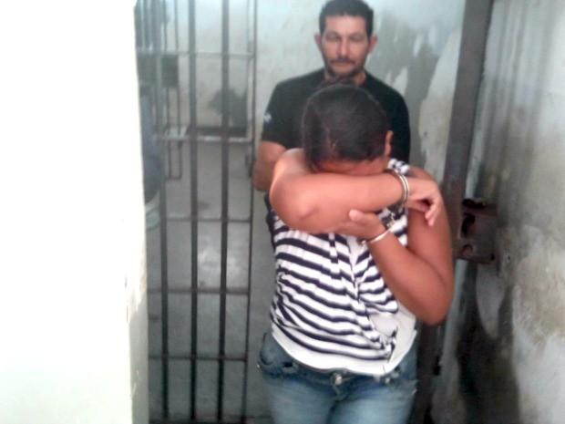 Suspeita confessou crime e que bebê seria levado para o exterior (Foto: Dhiego Maia/G1)