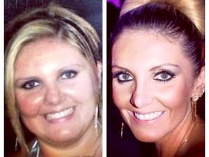 Aos 22 anos, Gabriela entrou em depressão por causa do excesso de peso (Foto: Arquivo pessoal)