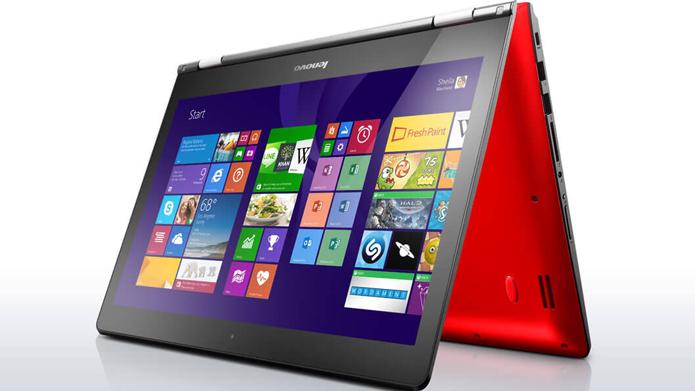Yoga 500 tem design conversível e versões com preços mais acessíveis do que os praticados no Yoga 900, top de linha da Lenovo (Foto: Divulgação/Lenovo)