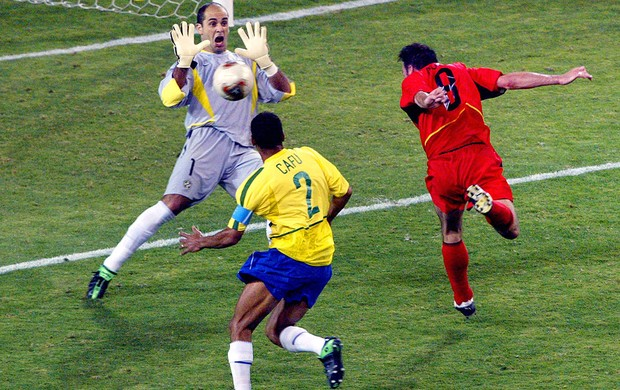 Marcos, Sele&#231;&#227;o Brasileira, Copa do Mundo 2002 (Foto: Ag&#234;ncia AFP)