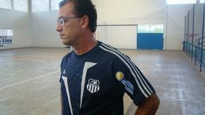 Adjair Pacheco, técnico do Central/Apcef-PE (Foto: Vital Florêncio)