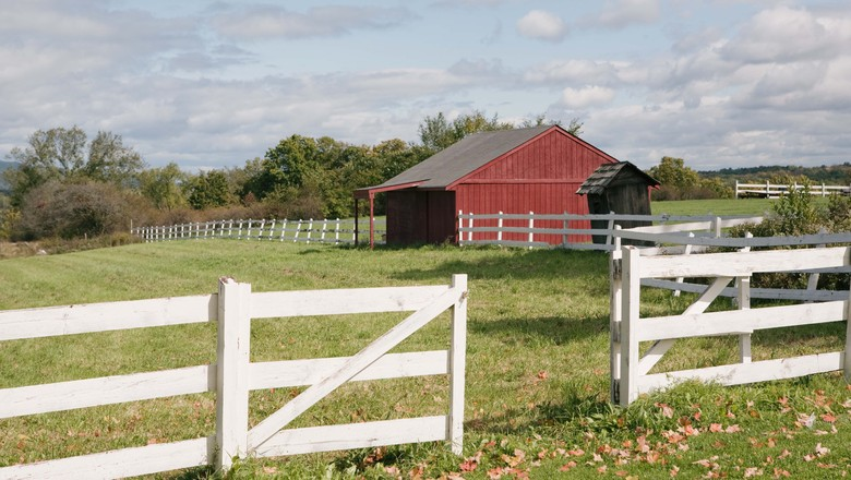 thinkstock-sitio-fazenda-chacara-interior-rural-campo-casa-rancho-granja-luis-vilela (Foto: Thinkstock)
