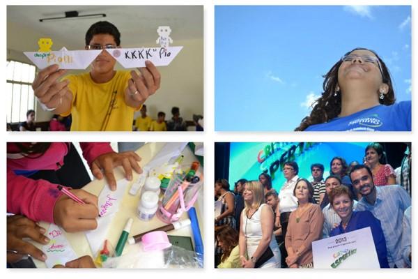 Criança Esperança apoia projeto da Casa do Menino em Uberaba (Foto: Divulgação   TV Integração)