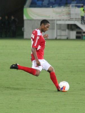 Diogo - lateral-direito do América-RN (Foto: Canindé Pereira/Divulgação)