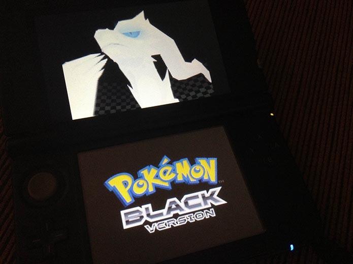 Pokémon Black/White: aprenda a deletar o save do jogo (Foto: Reprodução/Murilo Molina)
