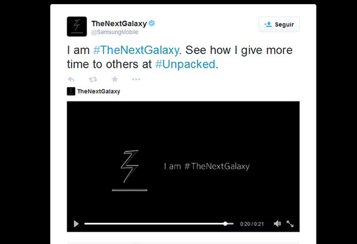 Samsung libera teaser sobre super potência do novo Galaxy (Foto: Reprodução/Barbara Mannara)