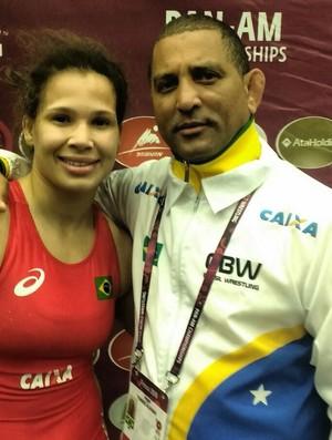 Laís Nunes ouro pan-americano de luta olímpica